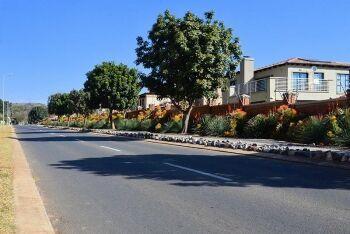 Libertas Ave in Equestria, a suburb of Pretoria, Tshwane, Gauteng